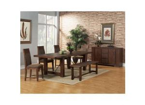 Pierre 6pcs Rustic Table set