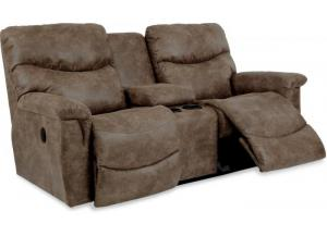 La-z-boy James Reclining Loveseat w/Console