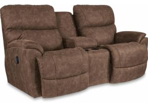 La-z-boy Trouper Power Reclining Loveseat with Console