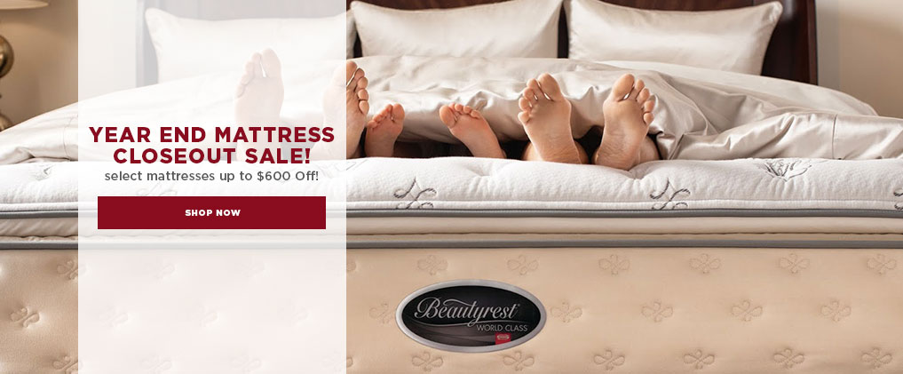 Year End Mattress Closeout Sale