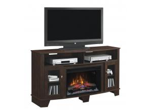 LaSalle Engineered Midnight Cherry Fireplace