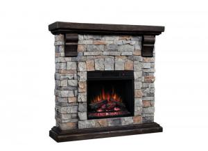 Pioneer Stone Fireplace