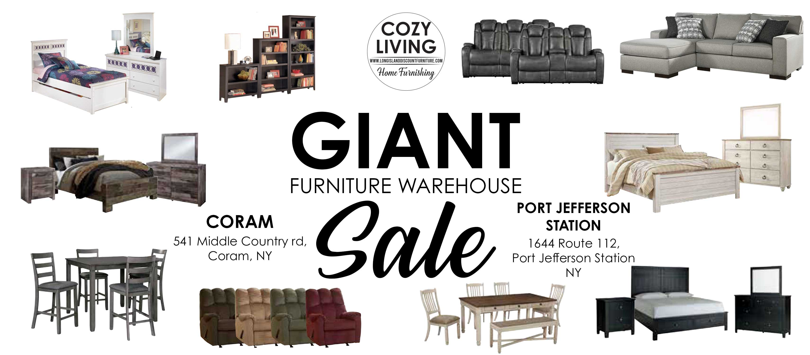 Giant Furniture Warehouse Sale