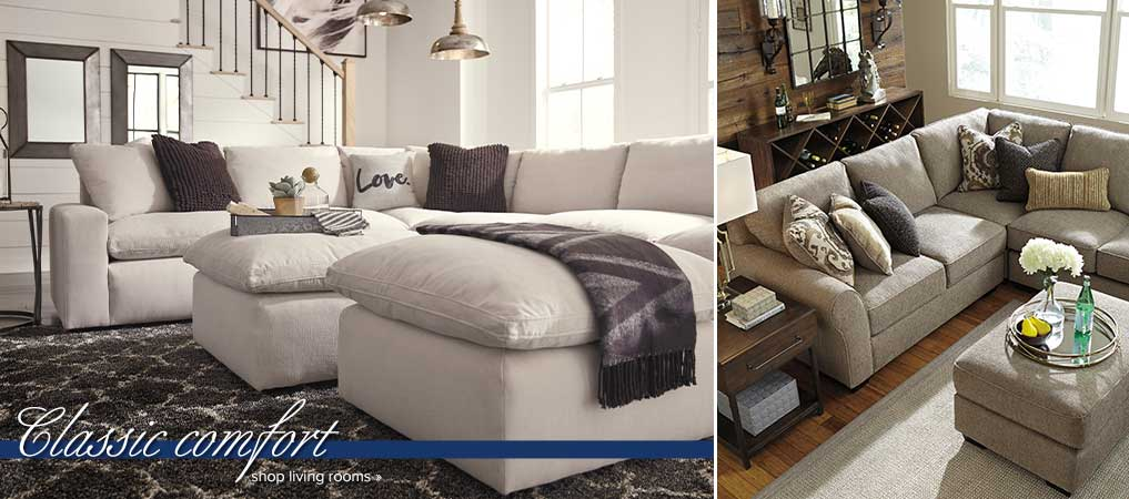 Classic Comfort - Shop Living Rooms