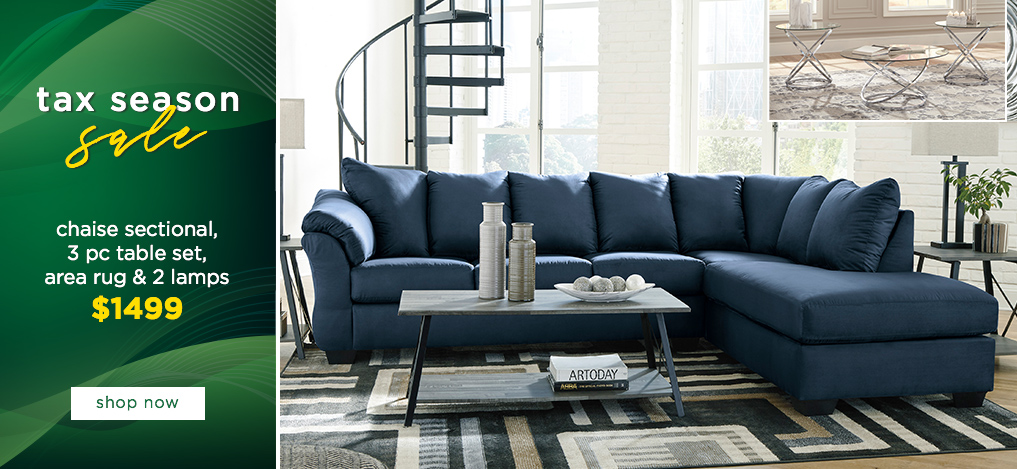 Tax Season Sale On All Living Room Furniture