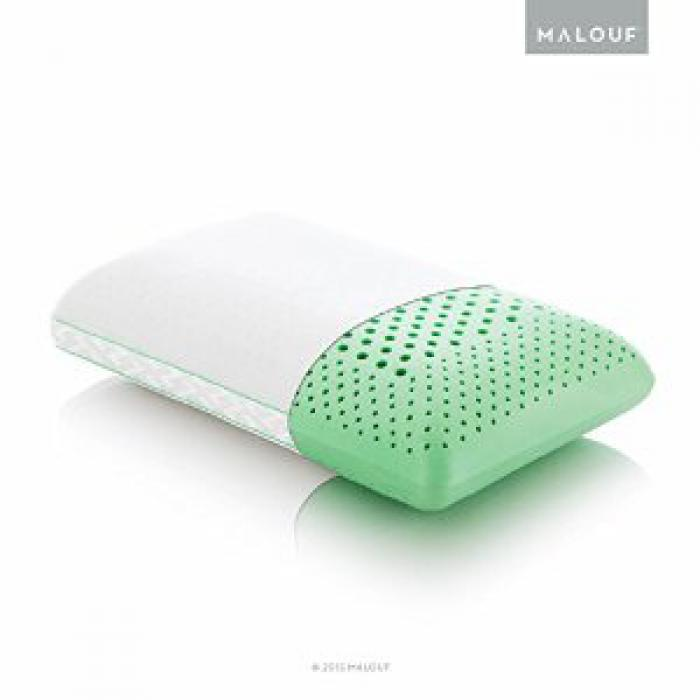ZONED DOUGH + BAMBOO PEPPERMINT- QUEEN SIZE - MID LOFT,Malouf