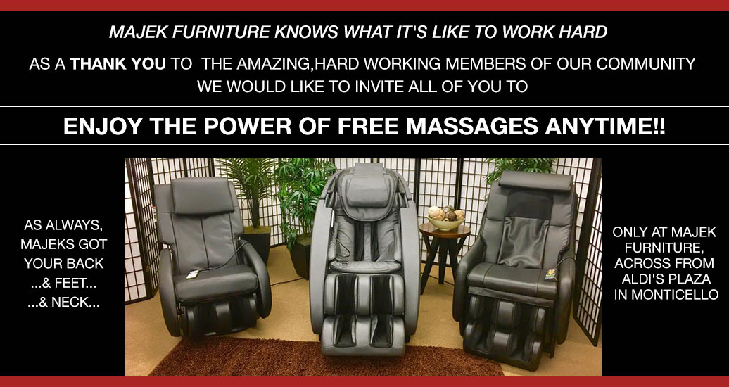 Massage Chairs at Majek