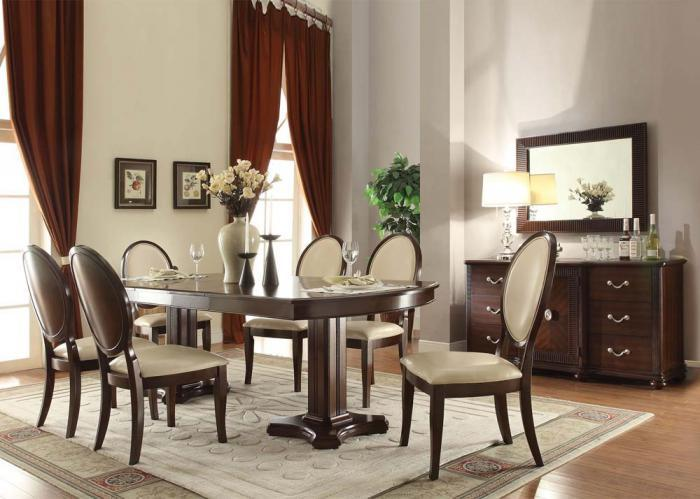 Balint Dining Set 7pcs,ACME Furniture
