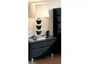Toledo-Black Nightstand