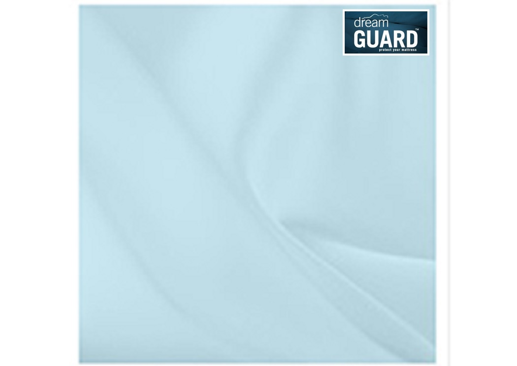 Aqua Microfiber Twin Sheet Set,dreamGUARD