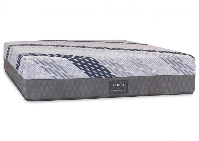 Natural Elements Hybrid King Mattress,Natural Elements