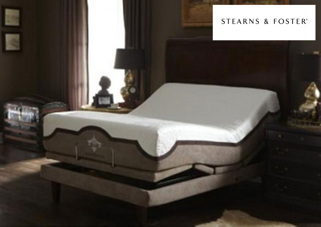 Stearns And Foster Reviews >> Mattress and More Reflexion 7 Queen Adjustable Power Base