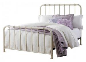 White Tristen Queen Bed