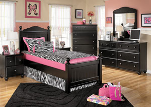 Jaidyn Full Poster Bed