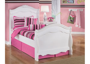 Exquisite Full Sleigh Bed