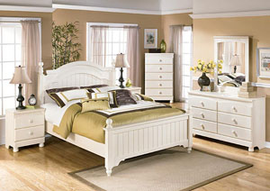 Cottage Retreat Queen Poster Bed