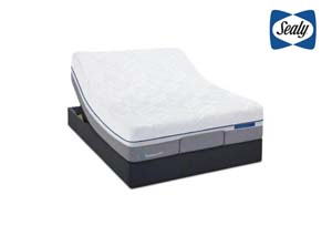 Posturepedic Reflexion UP Twin Power Base,Sealy