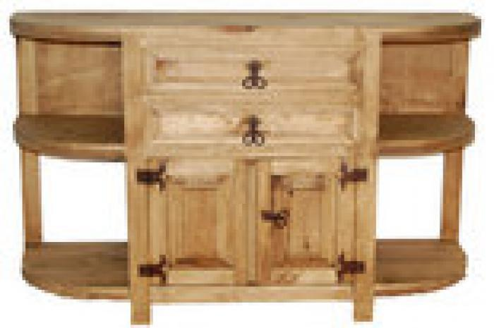 Million Dollar Rustic San Francisco Credenza,Million Dollar Rustic