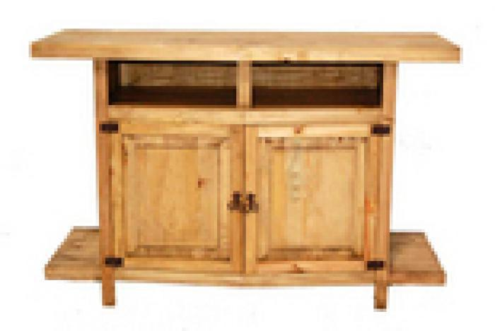 Million Dollar Rustic TV Stand W/ Shelves and Star,Million Dollar Rustic