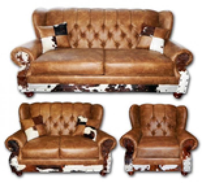 Million Dollar Rustic Chestnut Wingback Group,Million Dollar Rustic