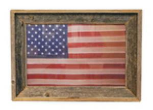 Million Dollar Rustic American Flag Print