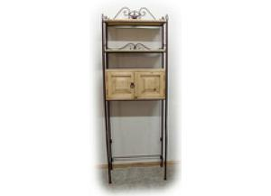 Million Dollar Rustic Bath Toilet/Towel Cabinet