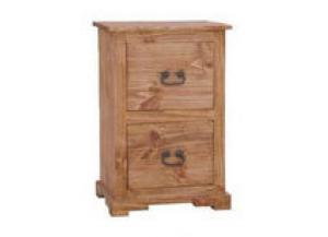 Million Dollar Rustic 2 Drawer File Cabinet