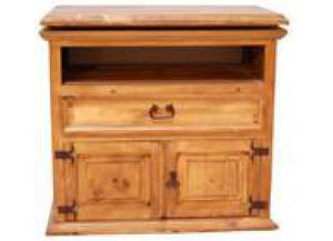 Million Dollar Rustic Large Swivel Top TV Stand