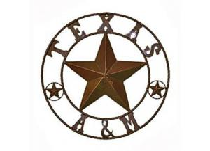 L.M.T. Rustic Texas A&M Star