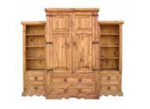 Million Dollar Rustic 3 Piece Wall Armoire
