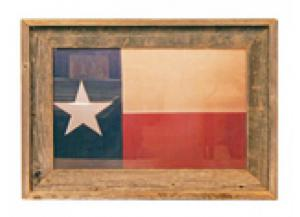 Million Dollar Rustic Texas Flag Print