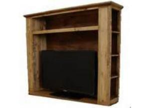 Million Dollar Rustic TV Hutch-DVD