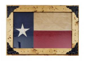 Million Dollar Rustic Fabric Texas Flag
