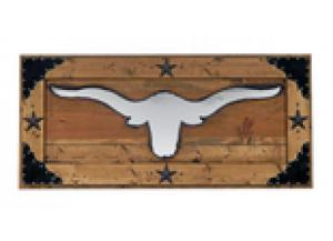 Million Dollar Rustic Longhorn Mirror