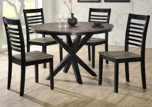 "Image for 5018 South beach 48"" round table w/4 chairs"