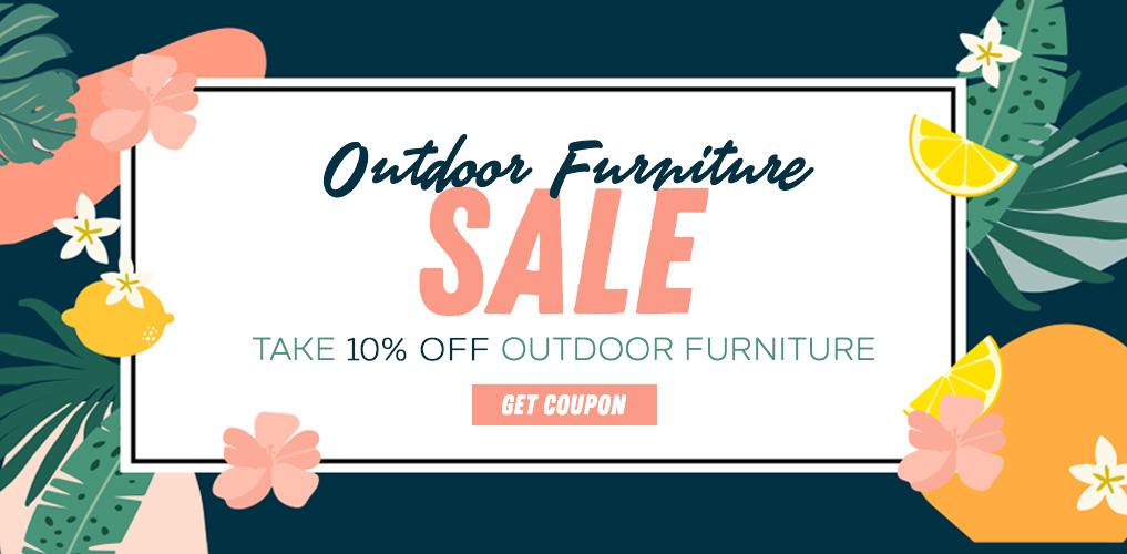 Outdoor Furniture Sale 10% Off