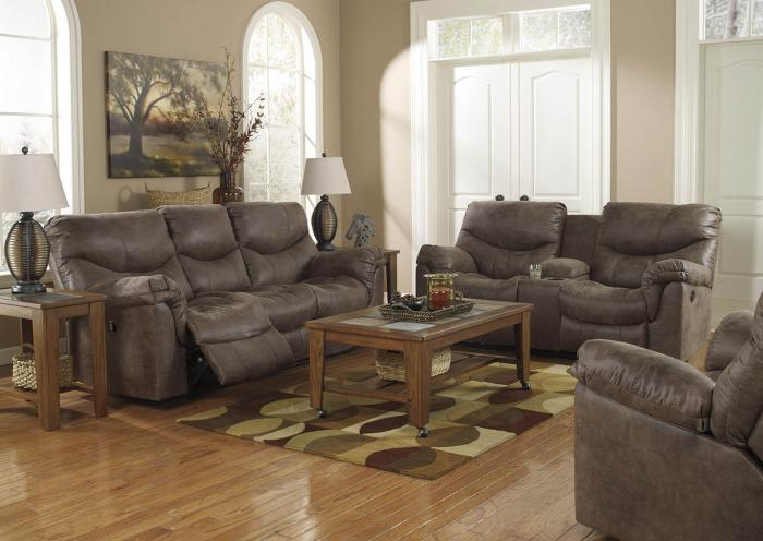 Brown Sofa, Loveseat and Chair,In-store