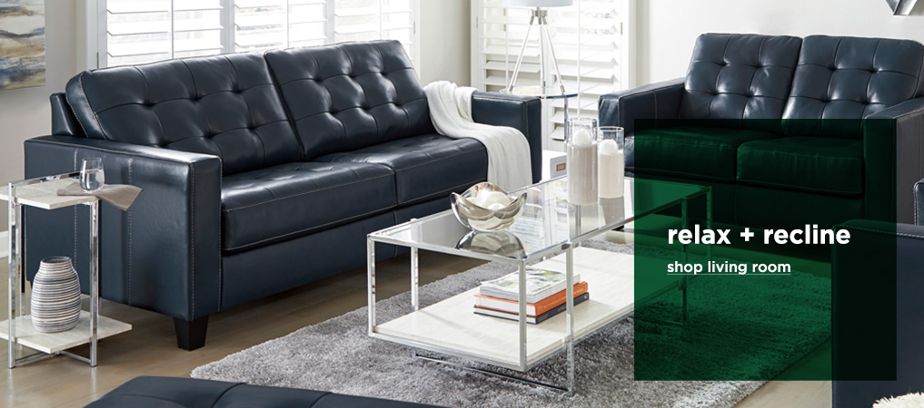 Relax + Recline - Shop Living Room