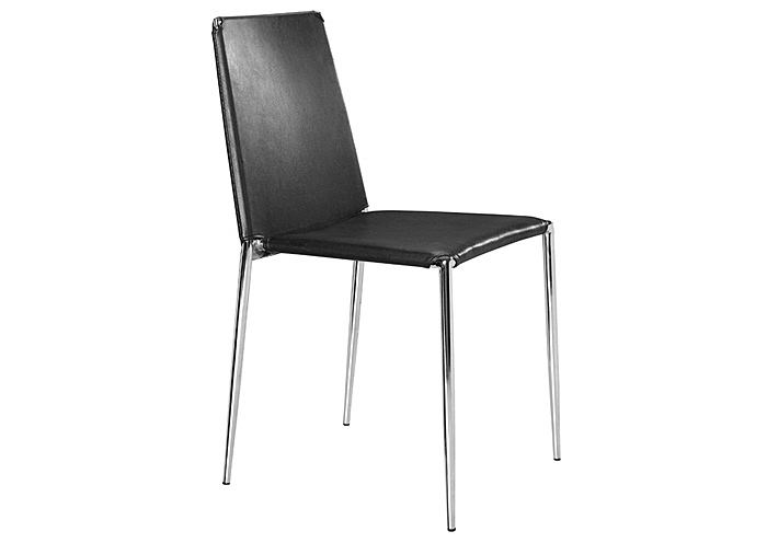 Alex Chair - Black (Pack of 4),Mr Bar Stool