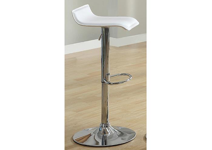 120 Hydraulic Bar Stool  White SET OF 2,Mr Bar Stool