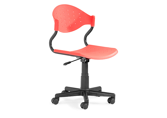 Sarge Office Chair - Red,Mr Bar Stool