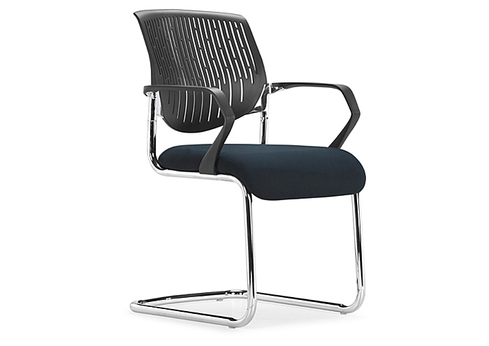 Synergy Sled Conference Chair - Black,Mr Bar Stool