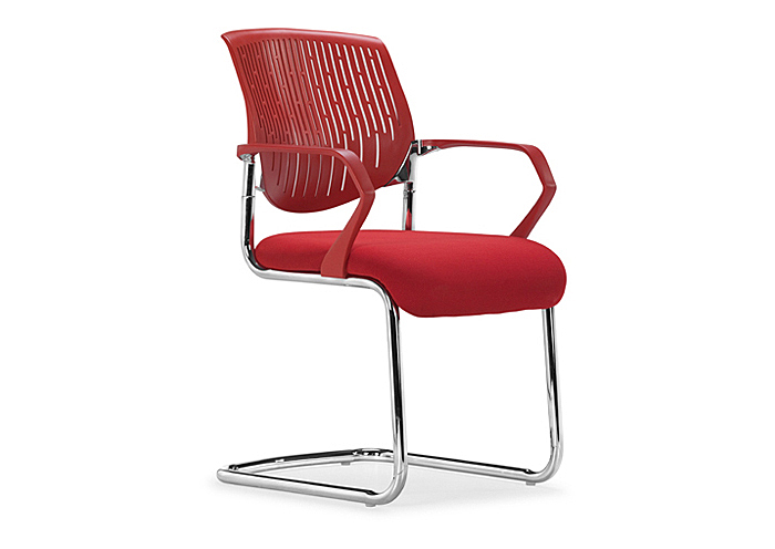 Synergy Sled Conference Chair - Red,Mr Bar Stool