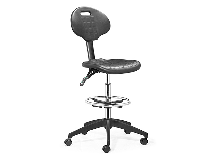 Ark Drafters Chair - Black,Mr Bar Stool