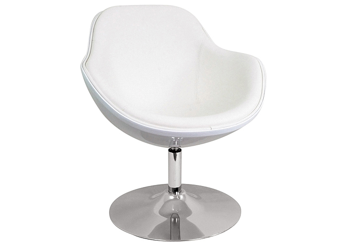 Saddlebrook Lounger - White,Mr Bar Stool