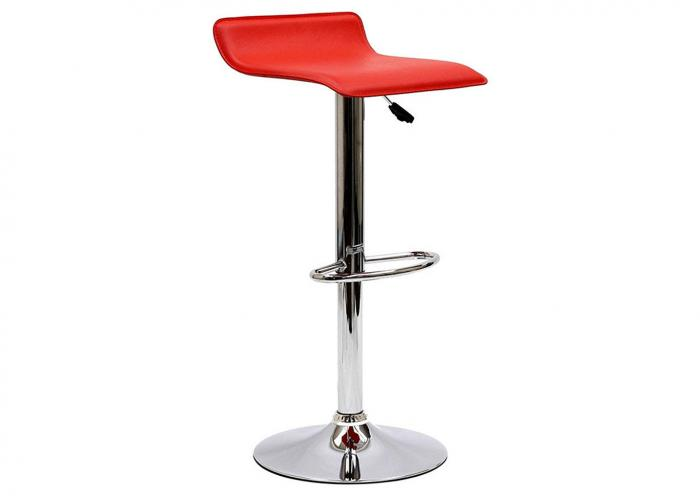 RED POLISHED CHROME BARSTOOL,Mr Bar Stool