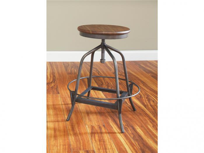 Abe Adjustable, Counter Height - Bar Height,Mr Bar Stool