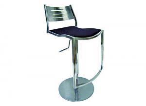 Champagne Hydraulic Adjustable Height Swivel Stool