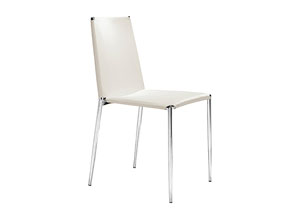 Alex Chair - White (Pack of 4)