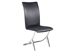 Delfin Chair - Black (Pack of 2)